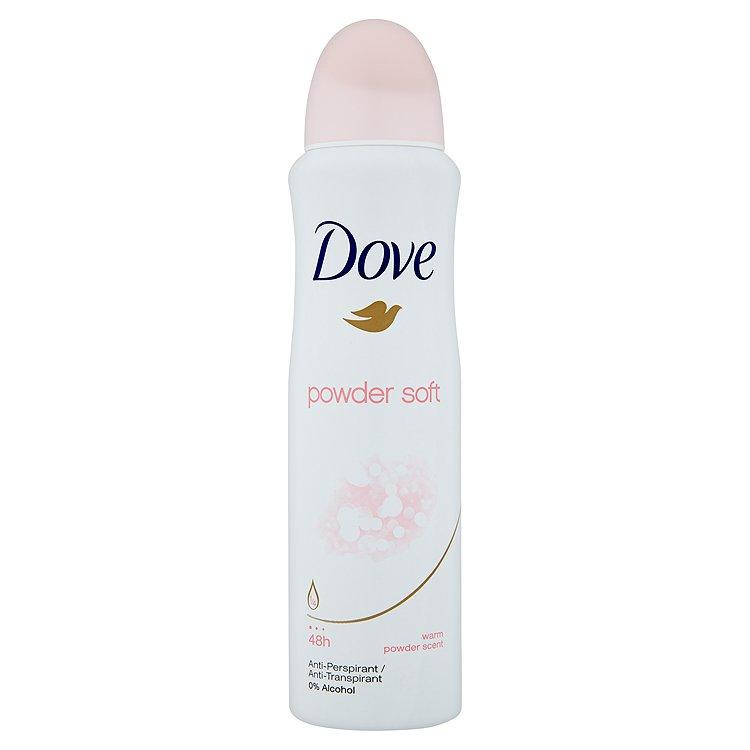 Dove Powder Soft antiperspirant sprej 150 ml