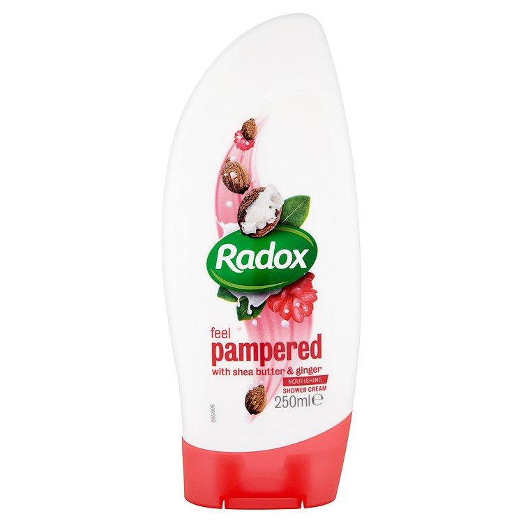 Radox Feel pampered krémový sprchový gel 250 ml