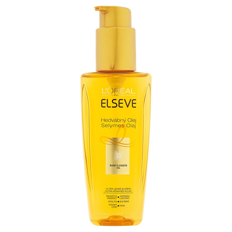 L'Oréal Paris Elseve Hedvábný olej pro všechny typy vlasů 100 ml