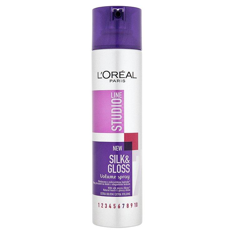 L'Oréal Paris Studio Line Silk & Gloss sprej pro objem 250 ml