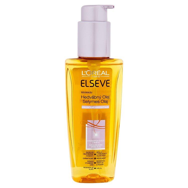 L'Oréal Paris Elseve Hedvábný olej pro poškozené vlasy 100 ml