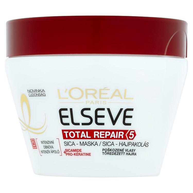 L'Oréal Paris Elseve Total Repair 5 Sica - maska na poškozené vlasy 300 ml