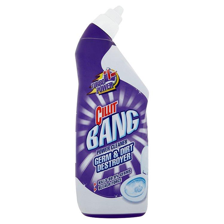 Fotografie Cillit Bang WC odstraňovač bakterií a špíny 750 ml