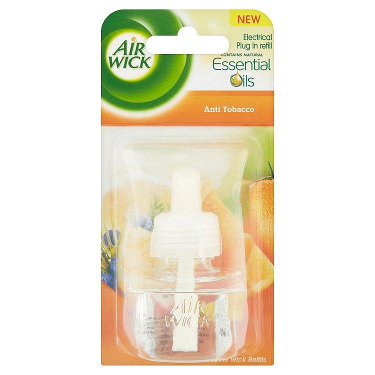 Air Wick Elektrický osvěžovač anti tabac náplň 19 ml