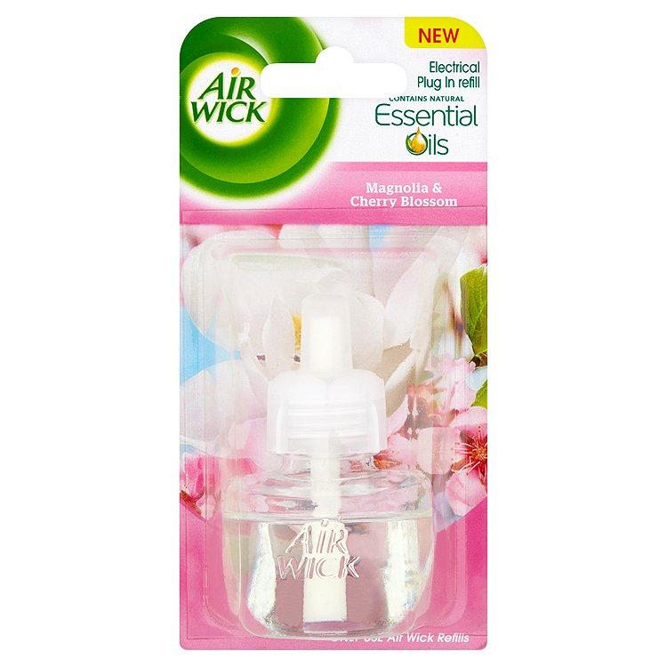 Air Wick Elektrický osvěžovač magnólie a kvetoucí třešeň náplň 19 ml