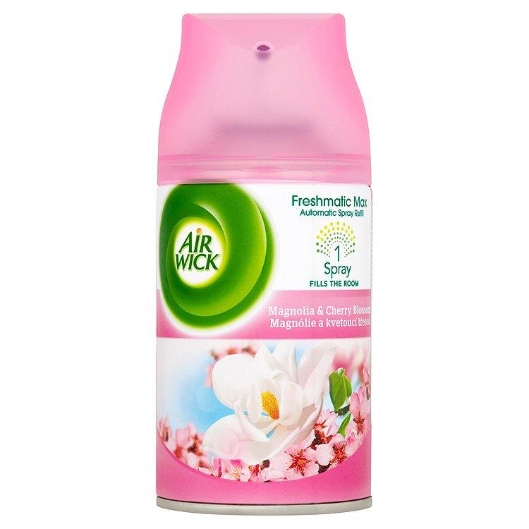 Air Wick Freshmatic Max Náplň do osvěžovače vzduchu magnolia a kvetoucí třešeň 250 ml