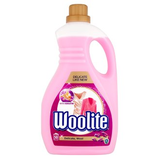 Fotografie Woolite Delicate Wool s keratinem prací prostředek na vlnu a jemné oblečení, 50 praní 3 l