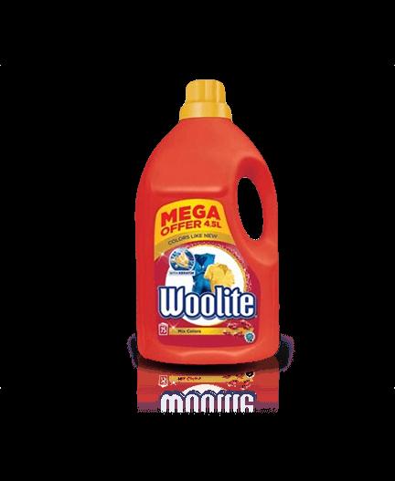Woolite Mix Colors s keratinem XXL tekutý prací prostředek na barevné prádlo, 75 praní 4,5 l