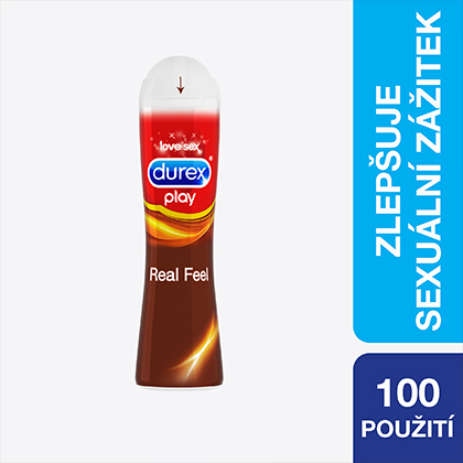 Durex Play Real Feel lubrikační gel 50 ml