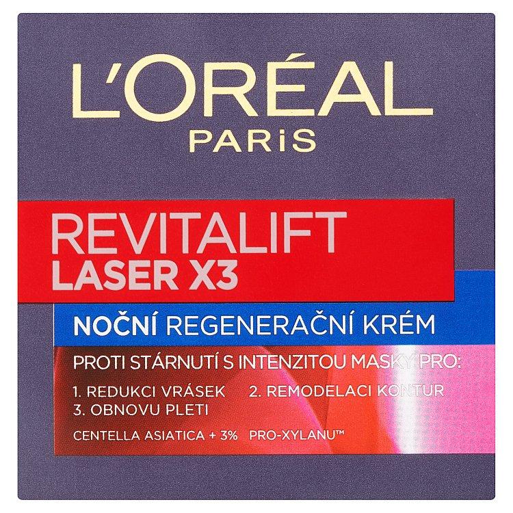 L'Oréal Paris Revitalift Laser X3 noční krém 50 ml
