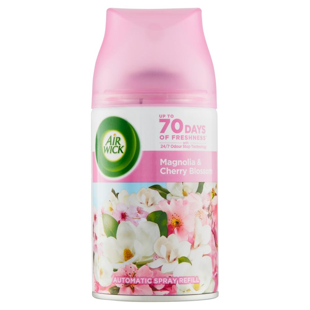 Air Wick Freshmatic náplň do osvěžovače vzduchu magnolie a kvetoucí třešeň 250 ml