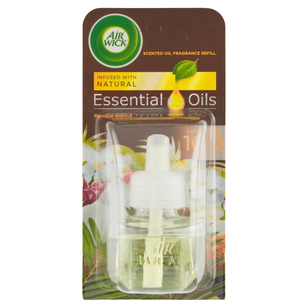 Air Wick Essential Oils náplň do elektrického přístroje rajská zahrada 19 ml