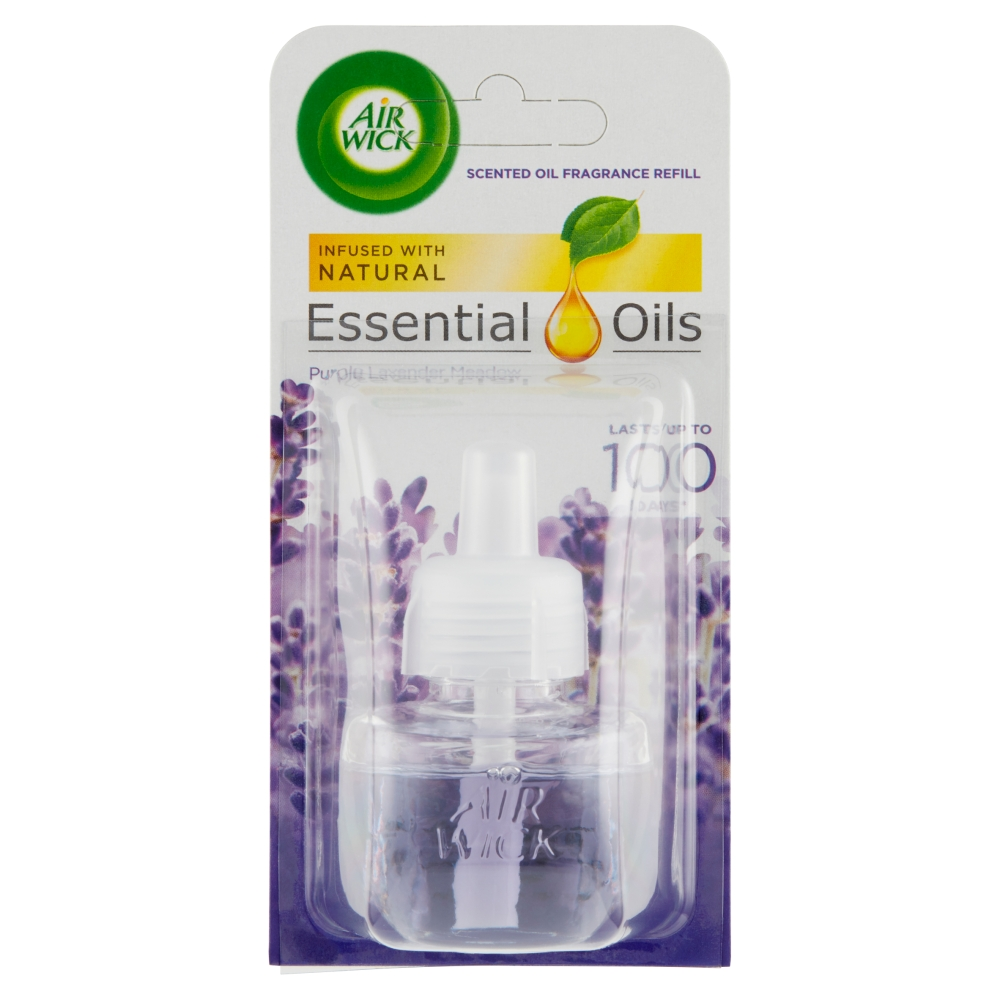 Air Wick Essential Oils náplň do elektrického přístroje levandule 19 ml