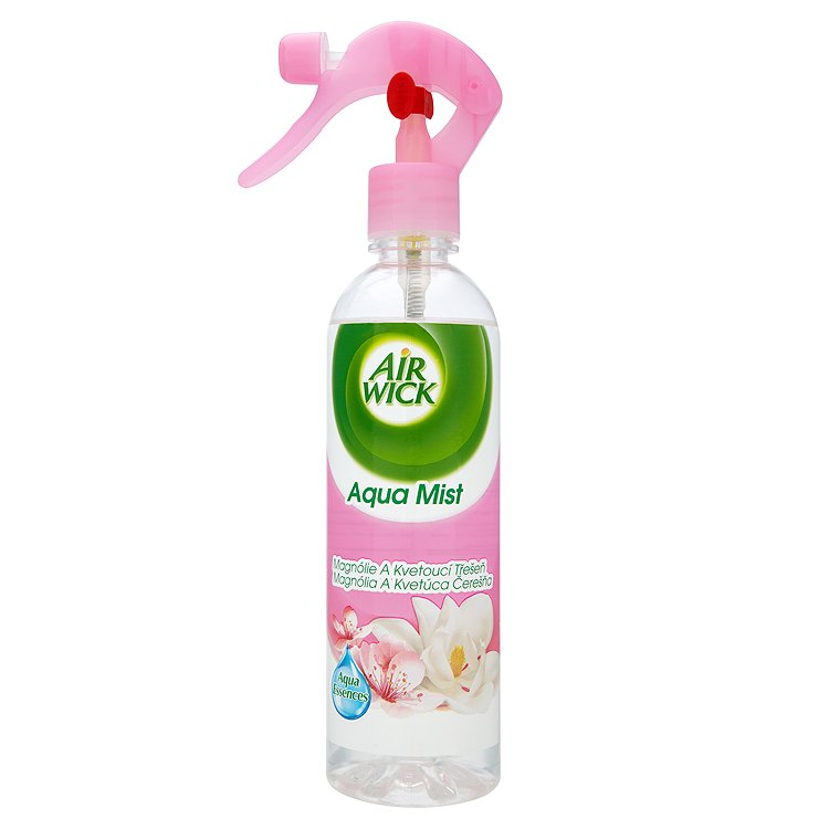 Air Wick Aqua mist osvěžovač vzduchu s vůní magnólie a kvetoucí třešně 345 ml