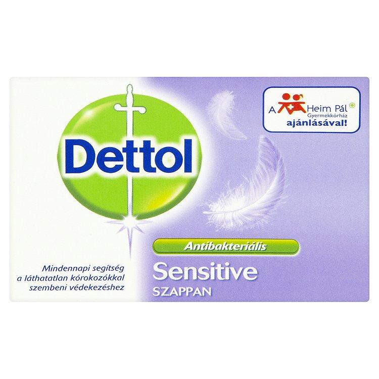 Fotografie Dettol toaletní mýdlo Sensitive 100g