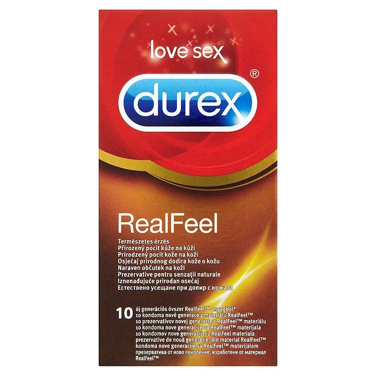 Durex Love Sex RealFeel kondomy 10 ks