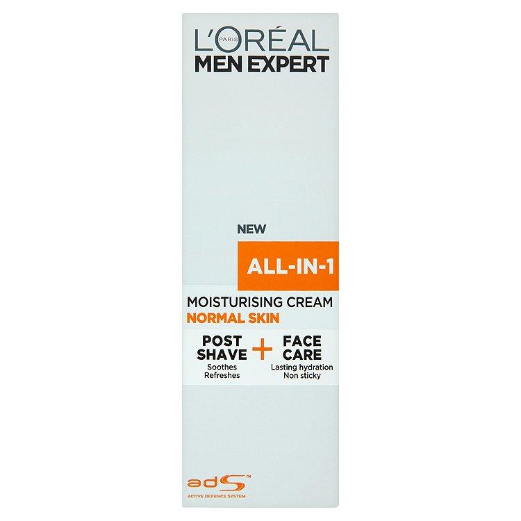 L'Oréal Paris Men Expert All-in-1, hydratační krém pro normální pleť 75 ml