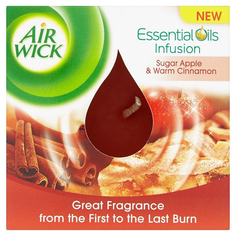 Airwick svíčka červené jablko a svařené víno 105 g