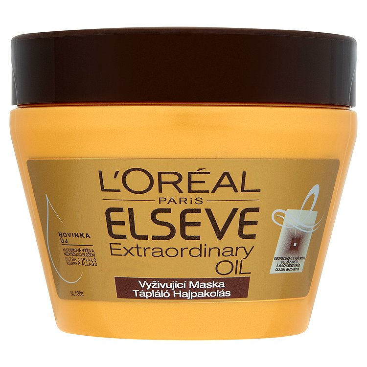L'Oréal Paris Elseve Extraordinary Oil vyživující maska 300 ml