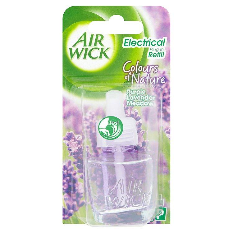 Air Wick Colours of Nature Elektrický osvěžovač - náplň vůně levandulové louky 19 ml