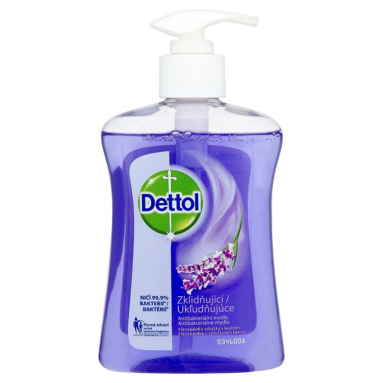 Dettol Zklidňující antibakteriální mýdlo s levandulí a výtažky z hroznů 250 ml