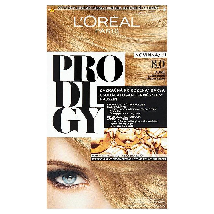 L'Oréal Paris Prodigy Dune světlá blond 8.0