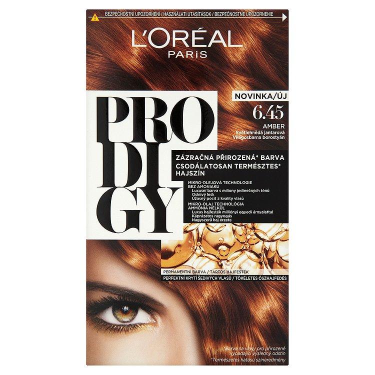 L'Oréal Paris Prodigy Amber světlehnědá jantarová 6.45