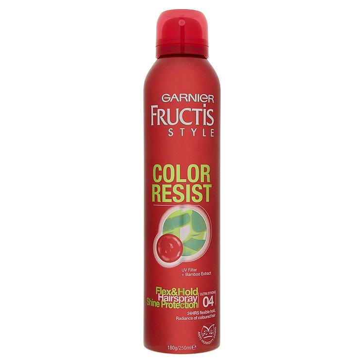 Fotografie Garnier Fructis Style Color Resist lak na vlasy 250 ml