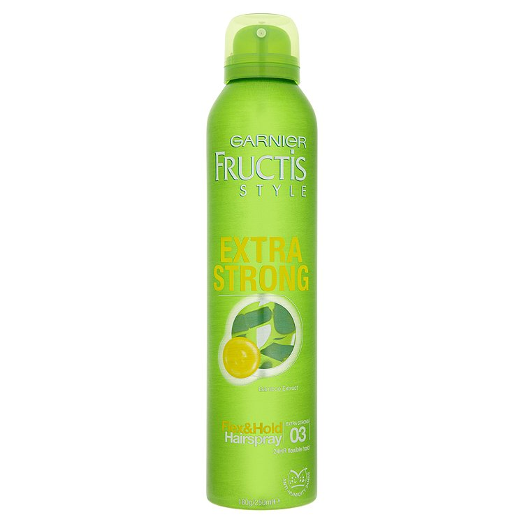 Fotografie Garnier Fructis Style Extra Strong lak na vlasy 250 ml