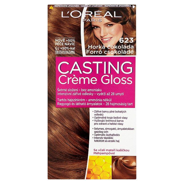 L'Oréal Paris Casting Crème Gloss horká čokoláda 623
