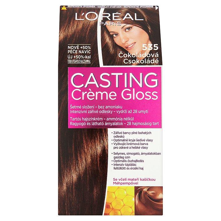 L'Oréal Paris Casting Crème Gloss čokoládová 535