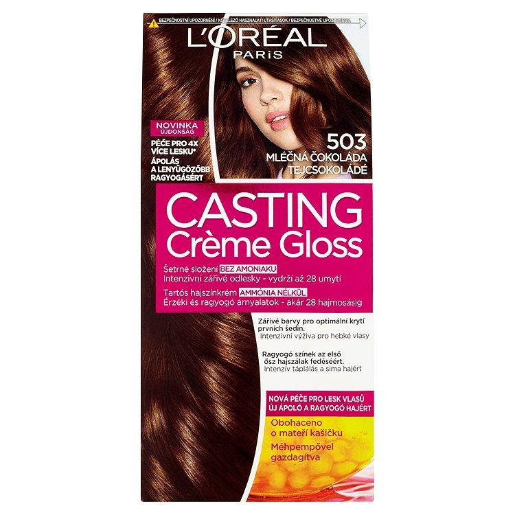L'Oréal Paris Casting Crème Gloss Mléčná čokoláda 503