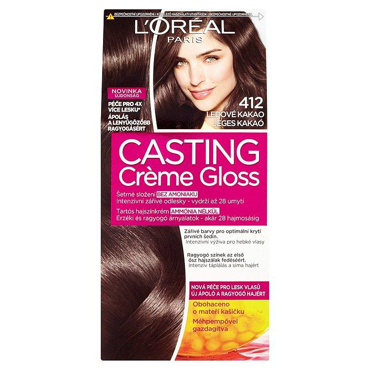 L'Oréal Paris Casting Crème Gloss Ledové kakao 412