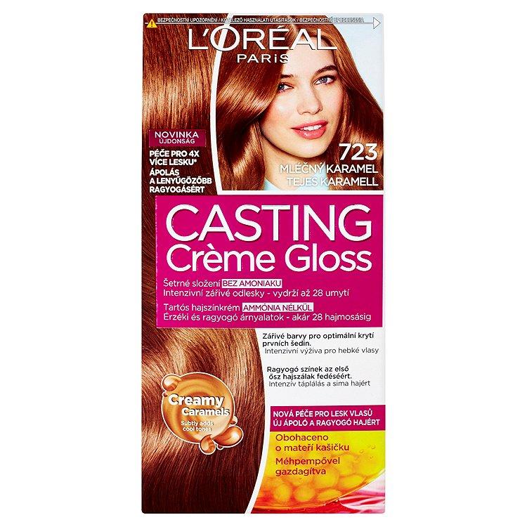 L'Oréal Paris Casting Crème Gloss Mléčný karamel 723