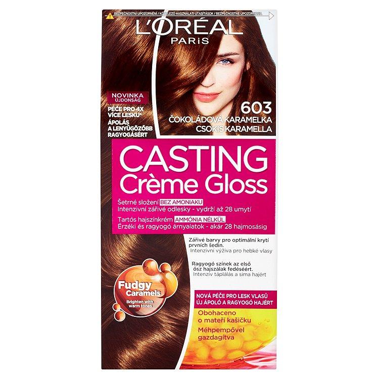 L'Oréal Paris Casting Crème Gloss Čokoládová karamelka 603