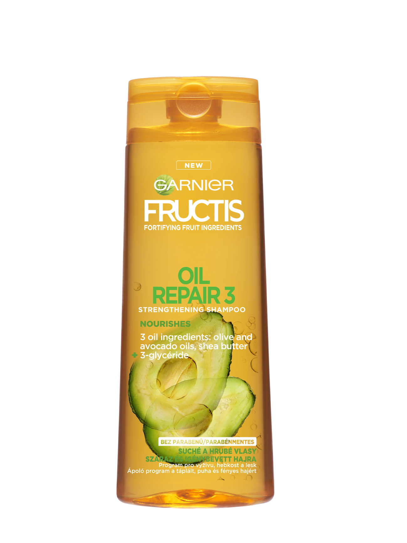Garnier Fructis Oil Repair 3 posilující šampon 250 ml
