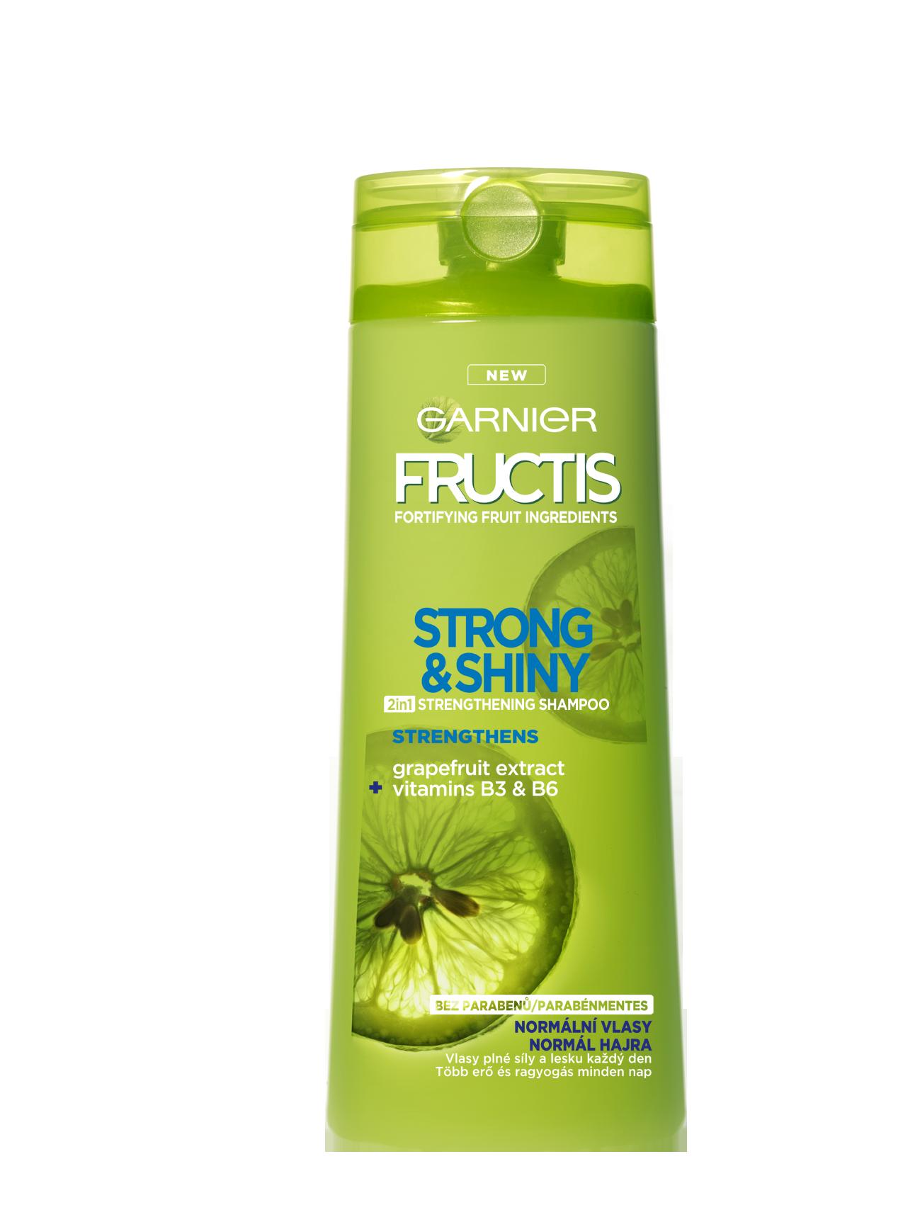 Garnier Fructis Strong & Shiny 2in1 posilující šampon 250 ml