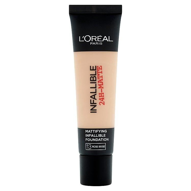 L'Oréal Paris Infallible 24h, zmatňující make-up Rose Beige 13