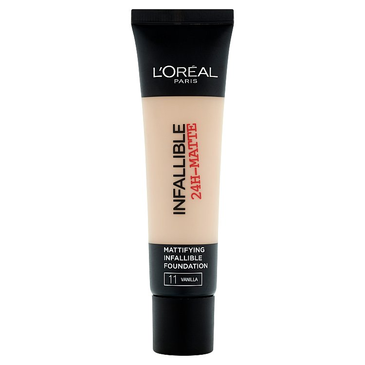 L'Oréal Paris Infallible 24h, zmatňující make-up Vanilla 11