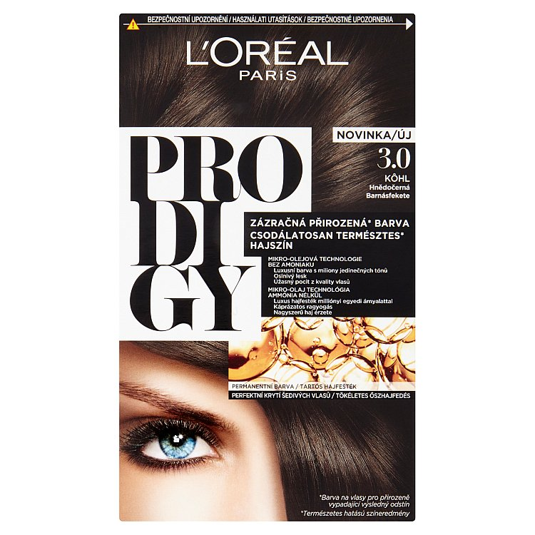 L'Oréal Paris Prodigy KOHL Hnědočerná 3.0