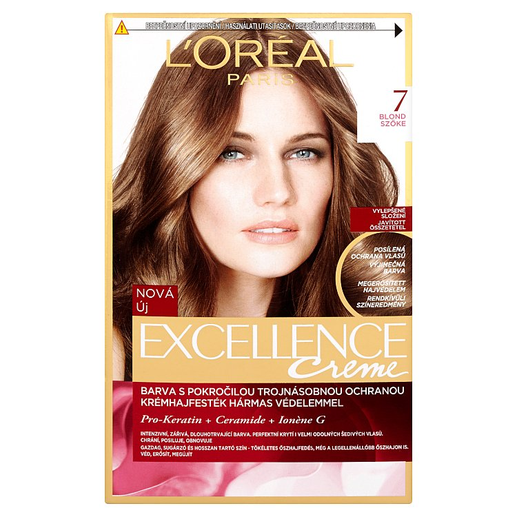 L'Oréal Paris Excellence Creme blond 7