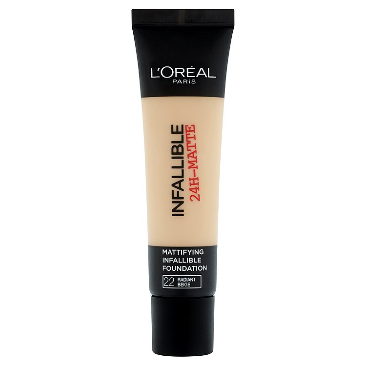 L'Oréal Paris Infallible 24h, zmatňující make-up Beige 22