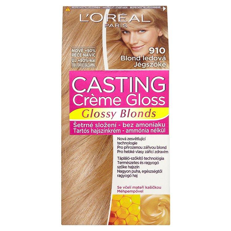 L'Oréal Paris Casting Crème Gloss Glossy Blonds blond ledová 910