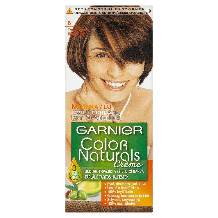 Garnier Color Naturals Crème dlouhotrvající vyživující barva tmavá blond 6