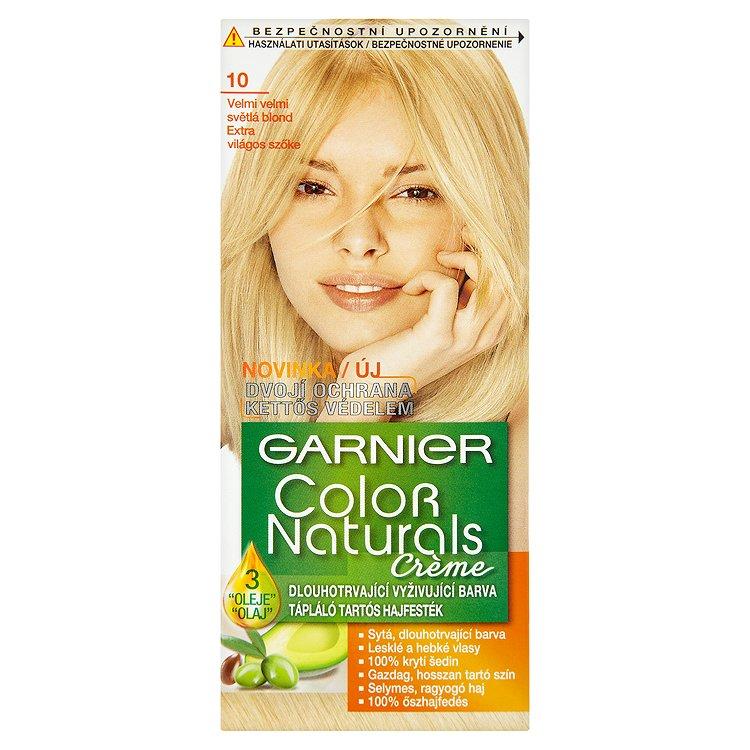 Garnier Color Naturals Crème dlouhotrvající vyživující barva velmi velmi světlá blond 10