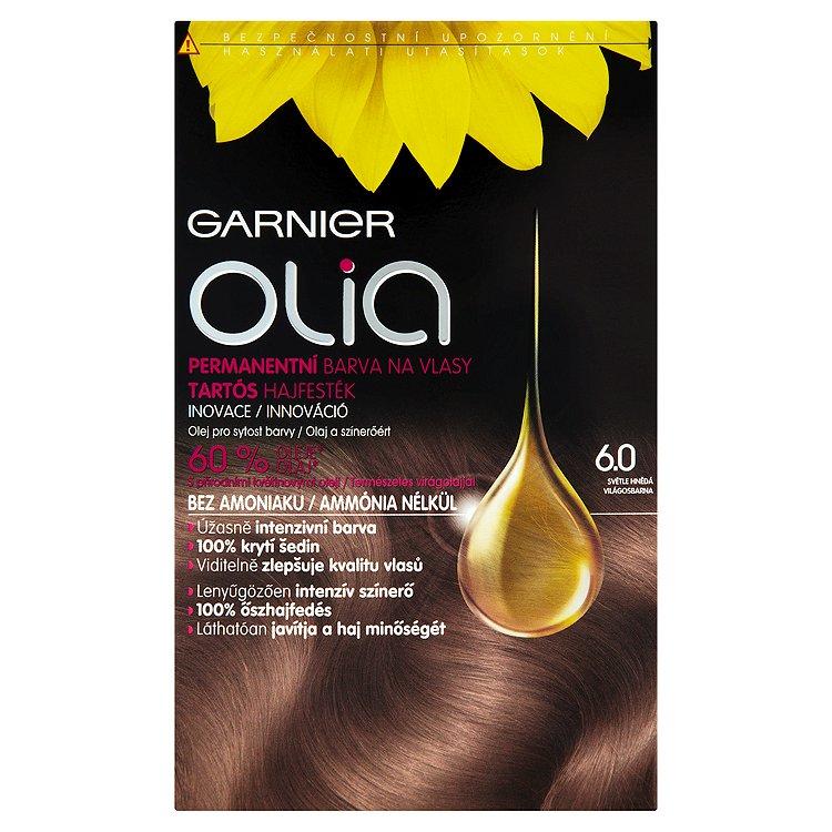 Garnier Olia Permanentní barva na vlasy světle hnědá 6.0