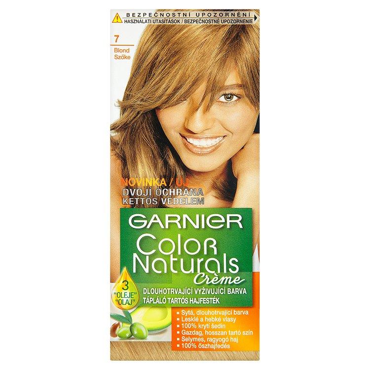 Garnier Color Naturals Crème dlouhotrvající vyživující barva blond 7