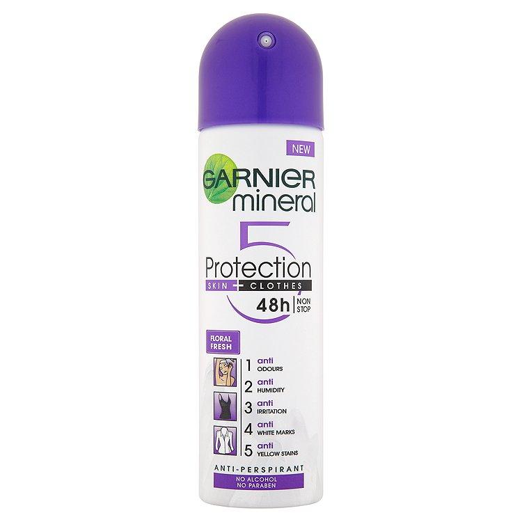 Garnier Mineral Protection 5 Floral Fresh minerální deodorant 150 ml