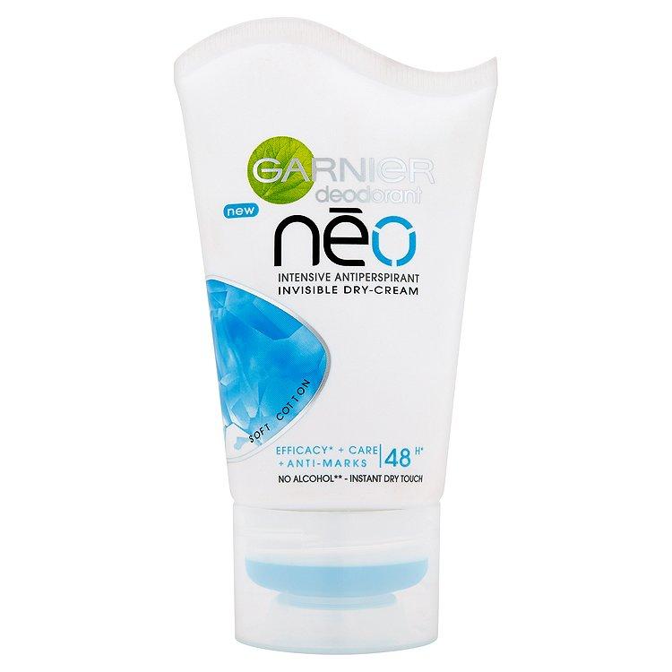 Garnier Nēo Soft Cotton neviditelný krémový antiperspirant 40 ml