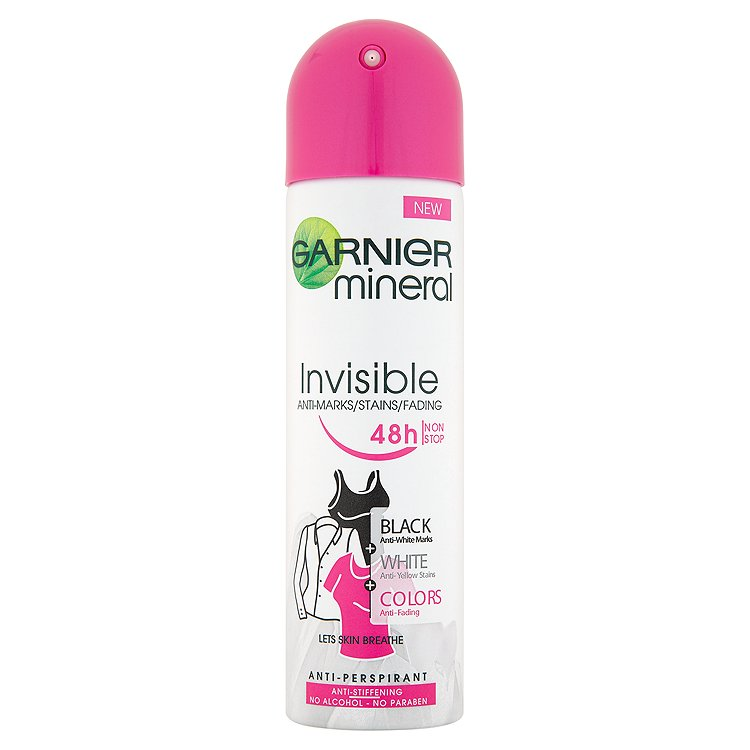 Garnier Mineral Invisible minerální deodorant 150 ml